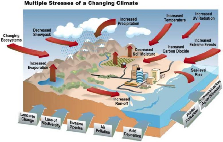 Stresses on Climate